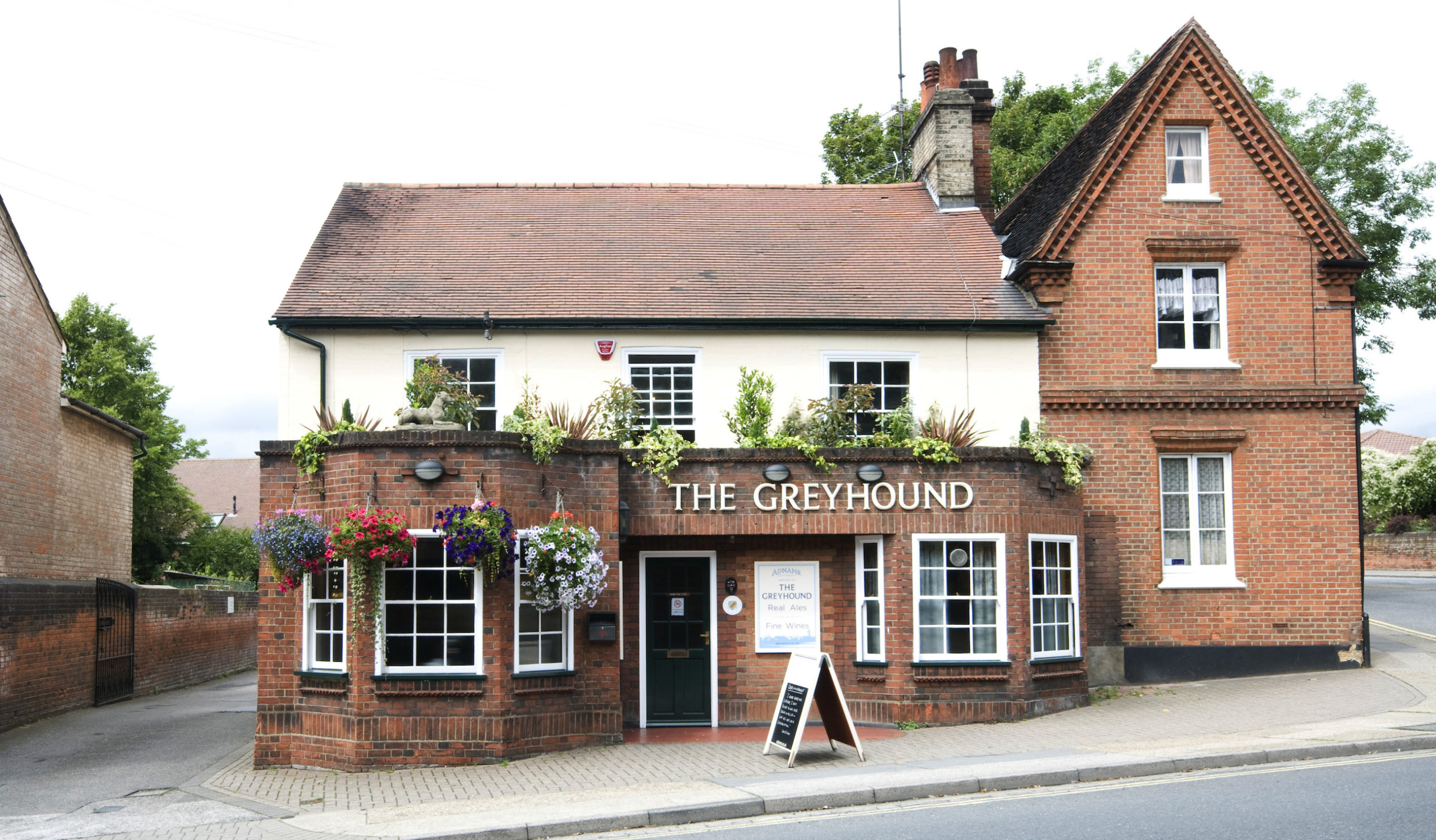 The Greyhound is open again on July 4