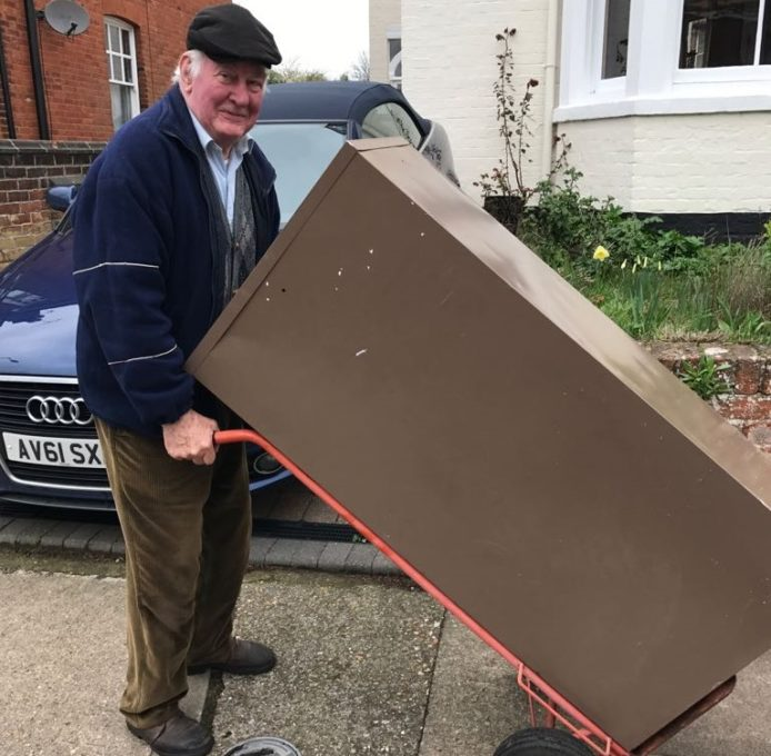 Pub caretaker promoted at last for his 80th birthday