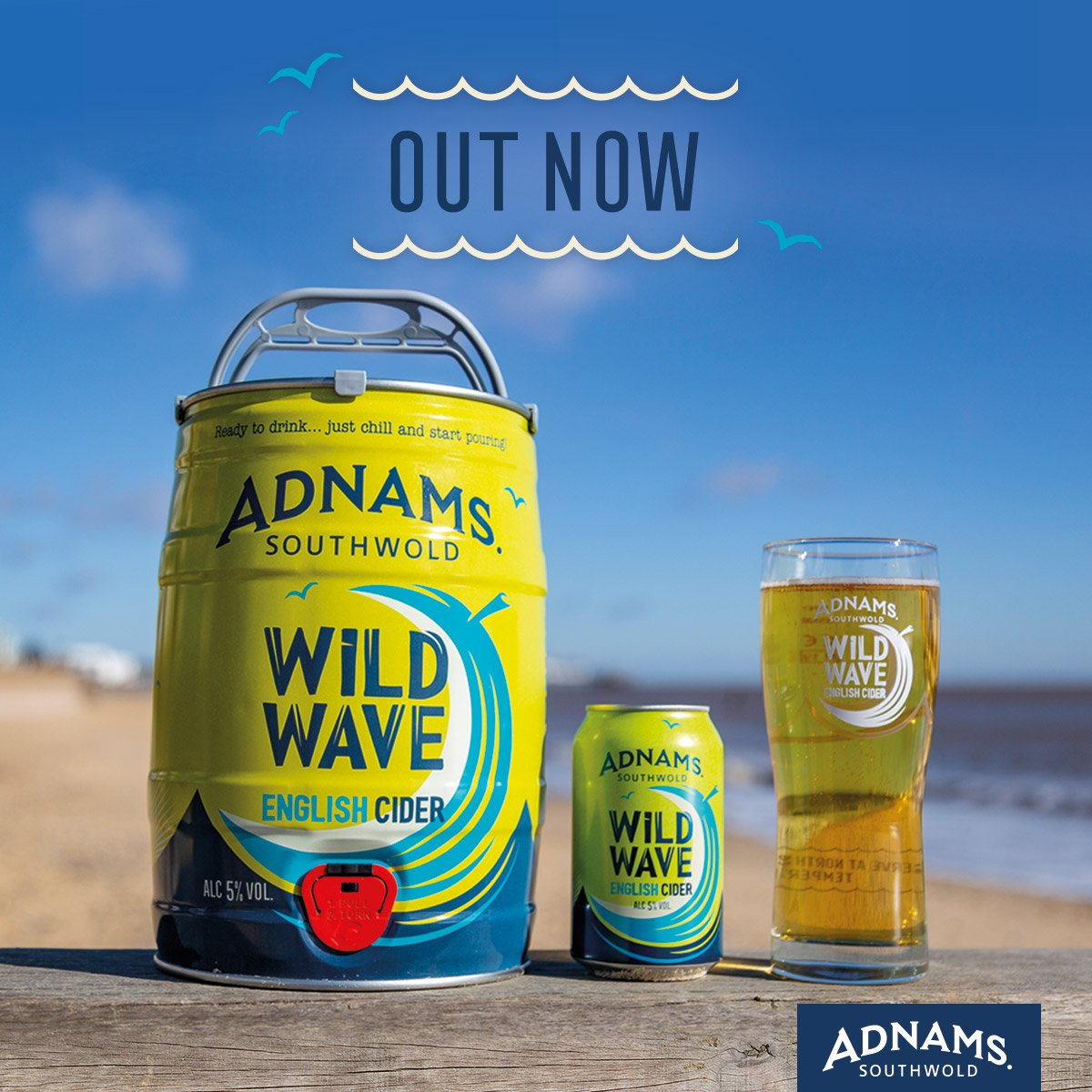 Enjoy Adnams' new cider here first