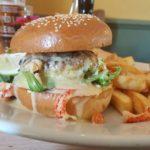 Ipswich pub burger