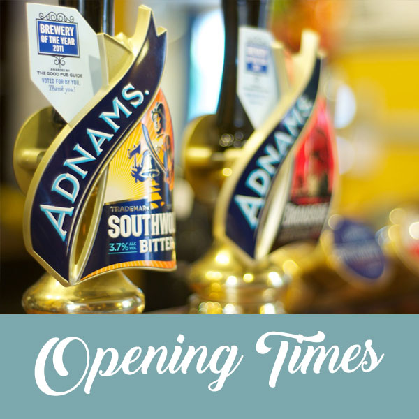 Opening times at the Greyhound pub Ipswich